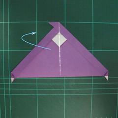 การพับกระดาษเป็นรูปแม่ชี (Origami Nun) 005