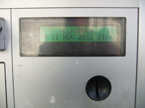 Parkometer med tid 4, v/ Vest-Agder-museet Mandal