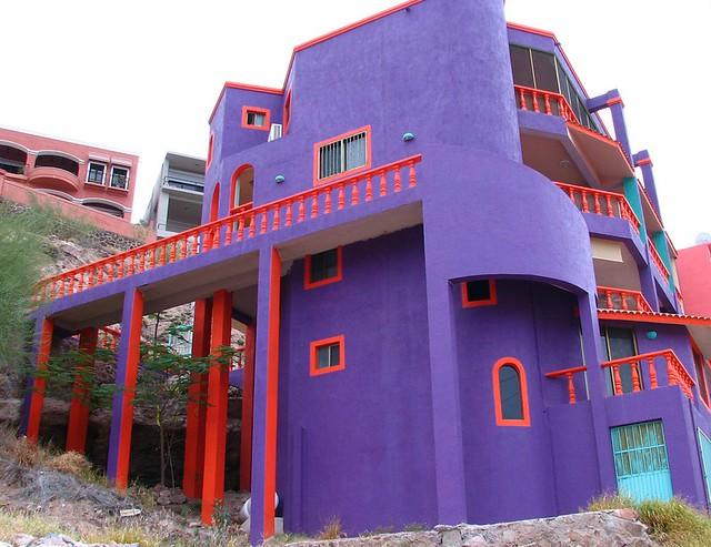 Colorful San Carlos House.