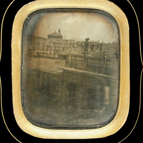 La fotografía más antigua de Madrid (Madrid, 184X)