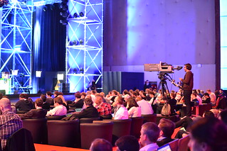 All the conference are filmed and recorded | by Julia Buchner