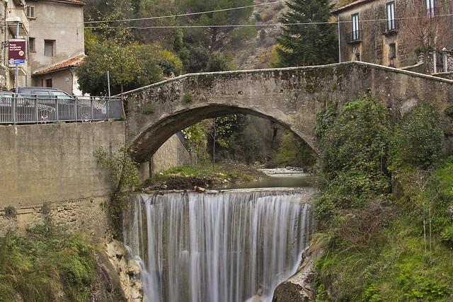 Piaggine, il ponte