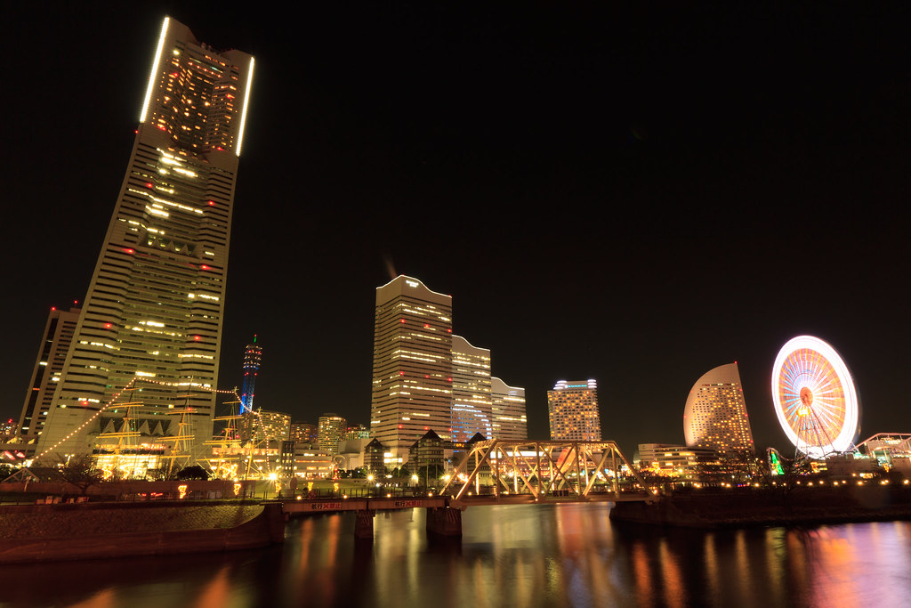 A night at Yokohama
