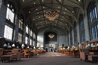 Harper Reading Room.   by ironypoisoning