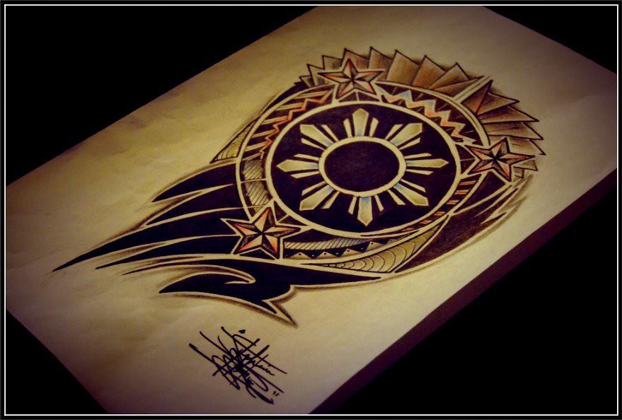 Tribal Art Tribal Sun Tattoo Designs