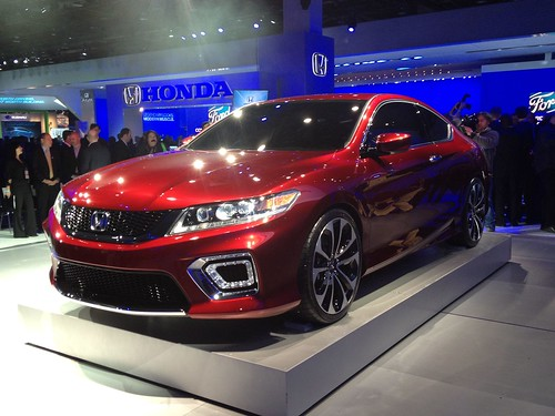 2013 Honda Accord Coupe Concept - Live from the 2012 Detroit Auto Show -  Jan 10, 9 48 48 AM Photo
