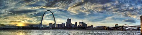 St. Louis Skyline Panorama | by Creativity+ Timothy K Hamilton