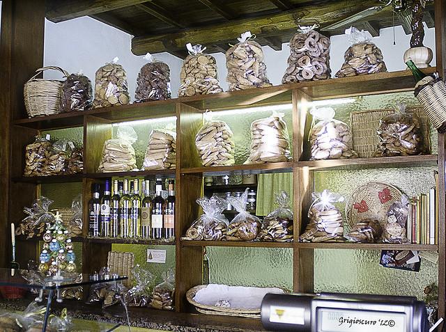 biscottini in bella mostra