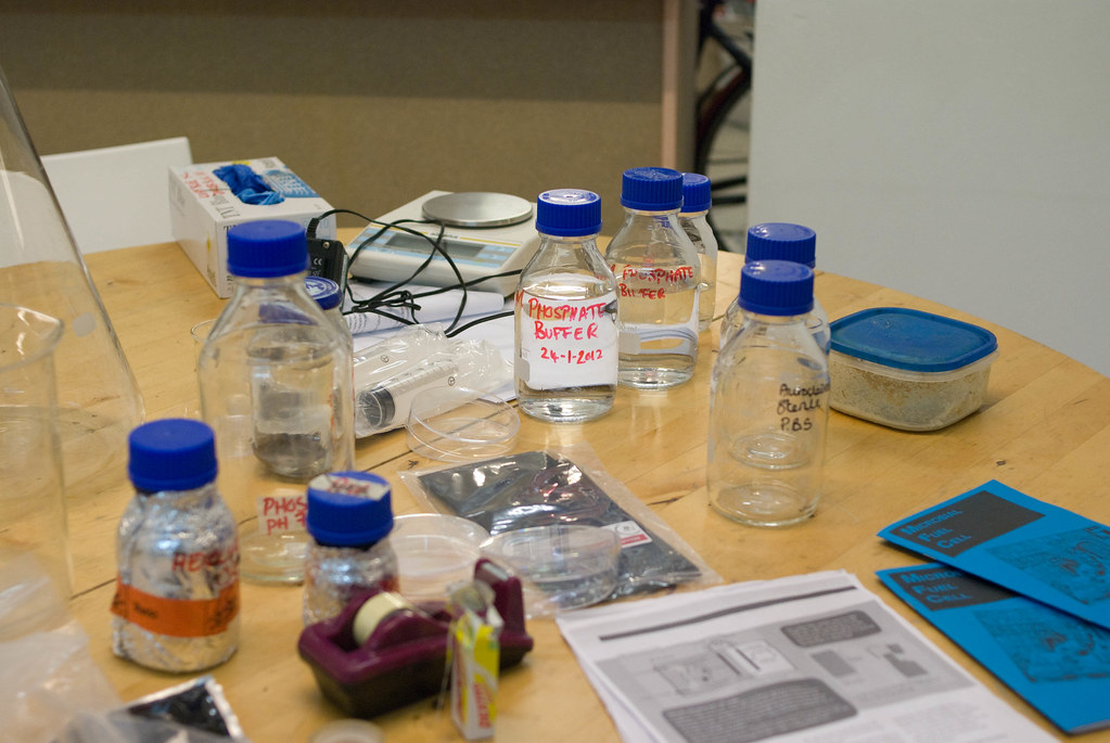 Microbial Fuel Cell Kit | various equipment needed to make a