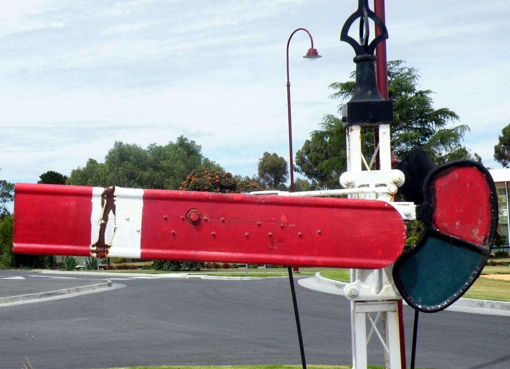 Old Seamaphore signal by denmac25