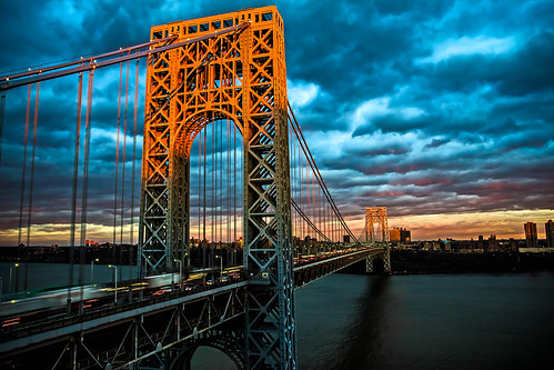 "newyorkcity bridge sunset lighthouse sunrise canon landscape dawn evening george newjersey twilight adobephotoshop nightscape manhattan scenic americanflag adobe hudsonriver independenceday suspensionbridge columbusday greatdepression gwb laborday memorialday fortlee georgewashingtonbridge flagday gwbridge nightfall martinlutherking littlered washingtonheights veteransday interstate95 presidentsday cassgilbert scenicview littleredlighthouse spanning americansociety othmarammann canoneos1dmarkiii civilengineers thegw hvargas portofnewyorkauthority ""flickraward"" adobecs5"