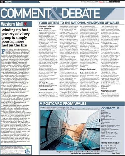 Western Mail - 30 January 2012