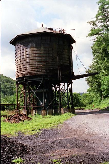 Cass Senic Railroad Water Tower