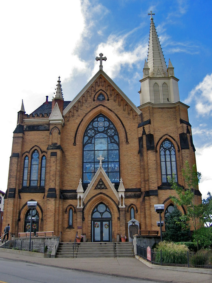 St Mary Of The Mount >> St Mary Of The Mount Church Mount Washington Pittsburgh Flickr