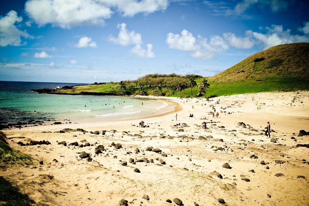 Anakena, Isla de Pascua