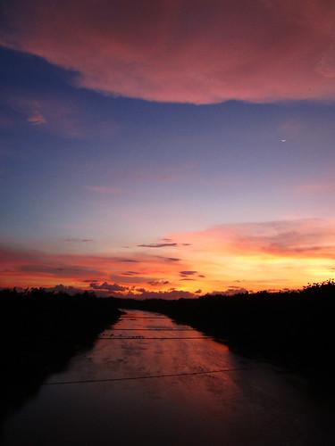 nature river indonesia java solo jawa sungai surakarta bengawansolo