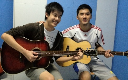 Guitar lessons Singapore Kee Chin