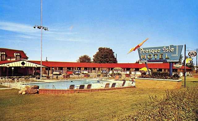 The Cardboard America Motel Archive: Presque Isle Motel