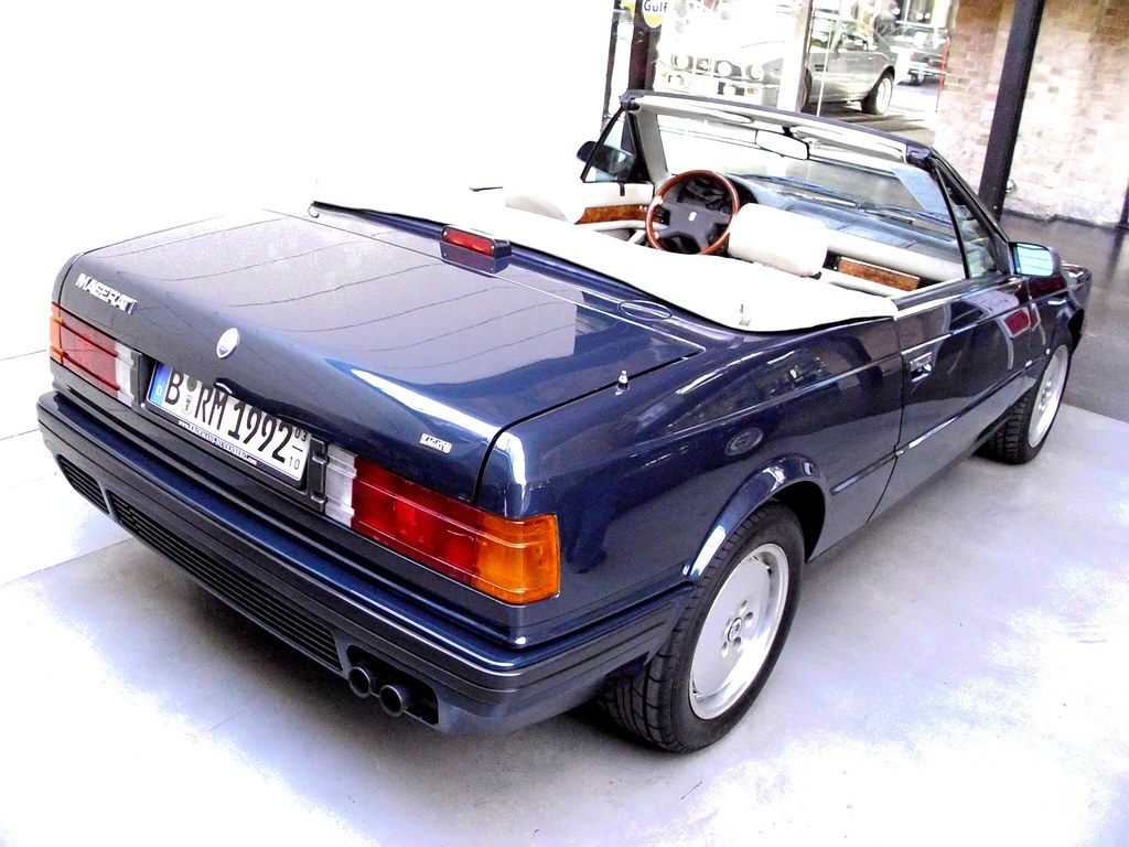Maserati Biturbo Spyder 1993 -2- | Classic Remise Berlin 201… | Flickr