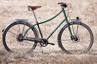 Chawn's Harmony Roadster in Field | by Muse Cycles