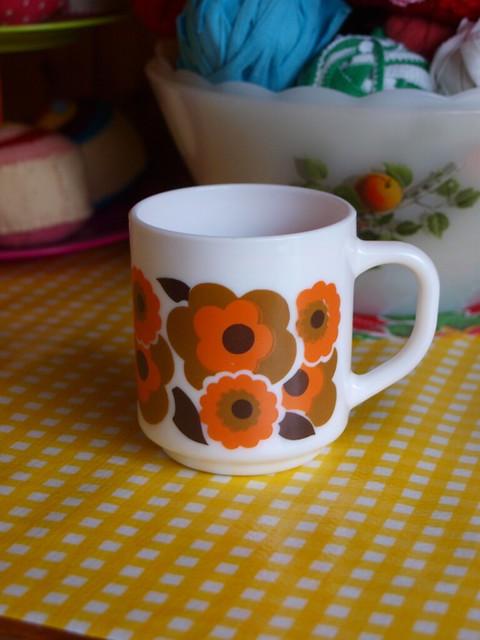 My new Arcopal mug