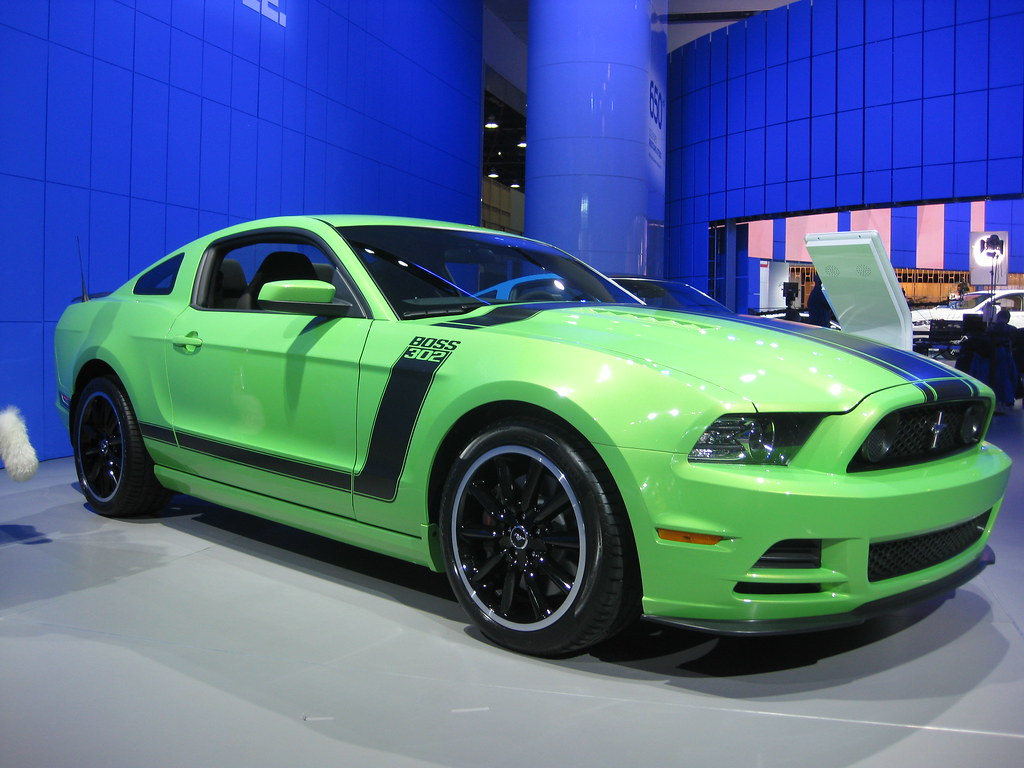 Ford mustang boss 302 at naias 2012 for more info and imag flickr