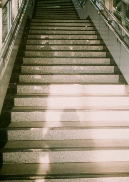 Stairs reflection