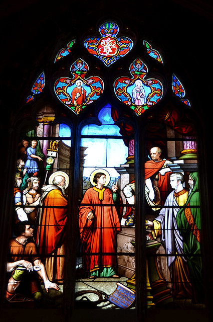 Montargis : vitraux de l'église Sainte-Madeleine