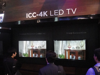 CES 2012 - Sharp ICC-4K TV | by Doug Kline