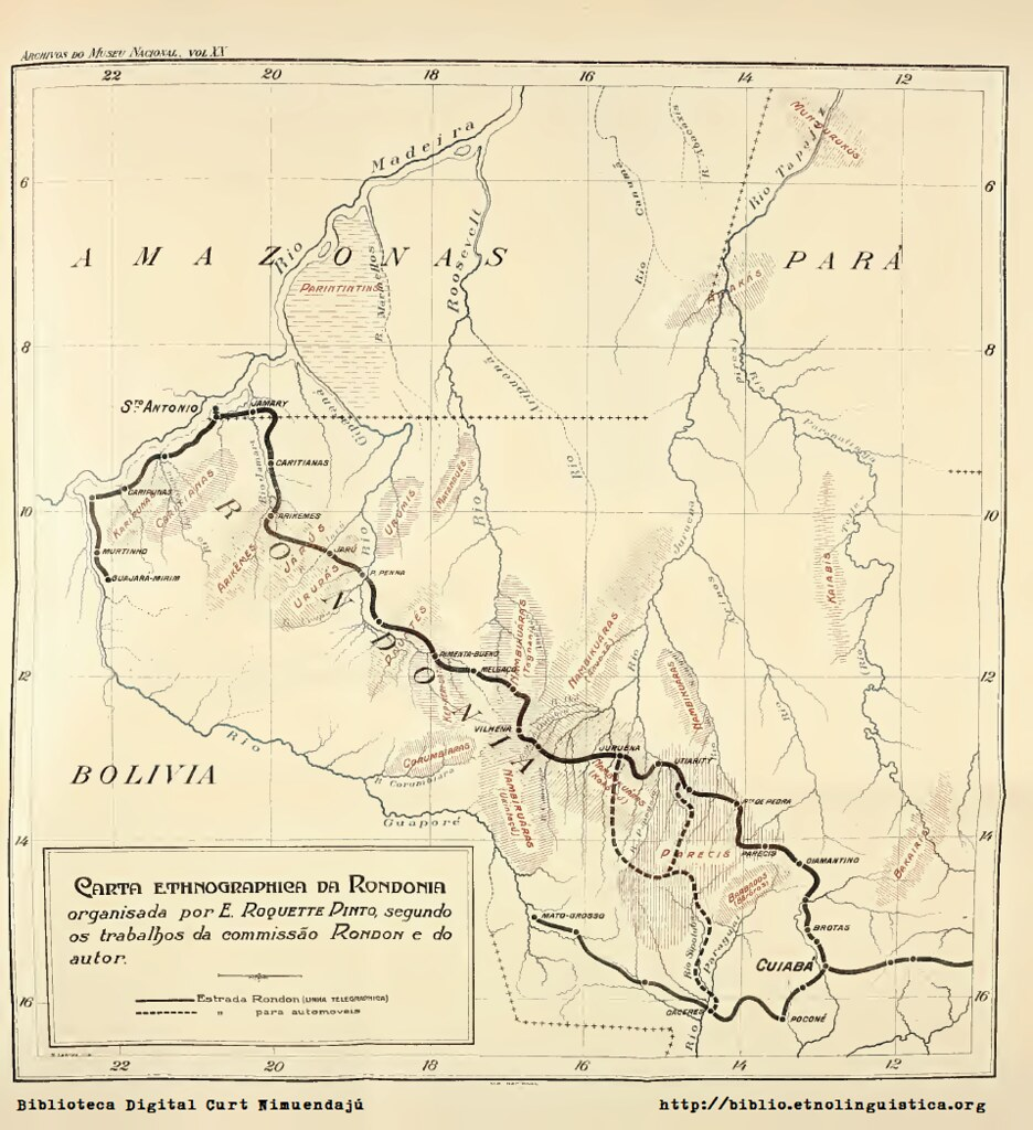 Carta Ethnographica da Rondonia