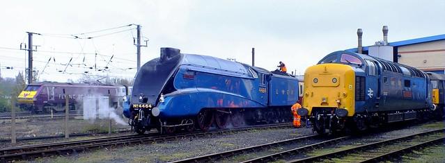 East Coast locomotives .