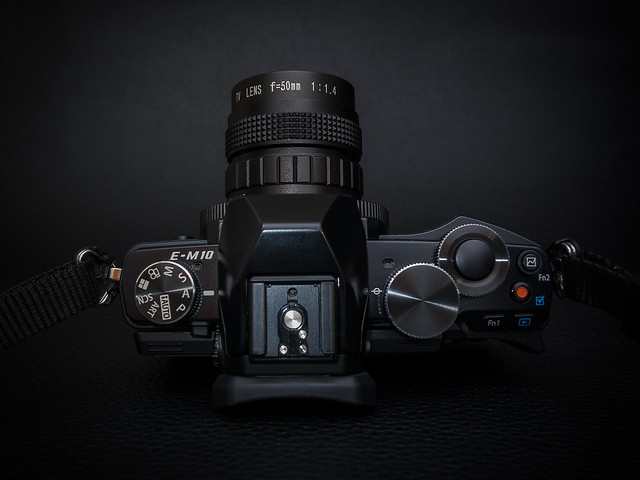 Depicted: Olympus OM-D E-M10 & 50mm f/1.4 CCTV C-mount lens
