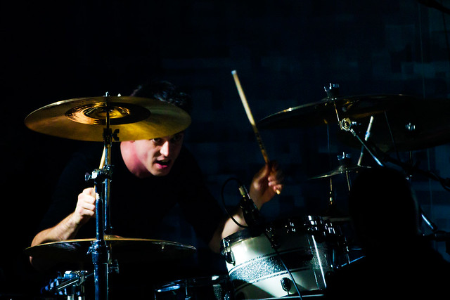 Spot the drummer