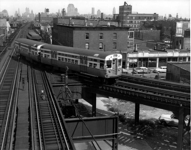 1954: Douglas Trains Passing