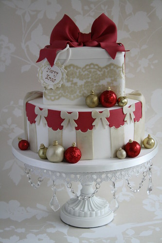 Family christmas cake | by Cotton and Crumbs