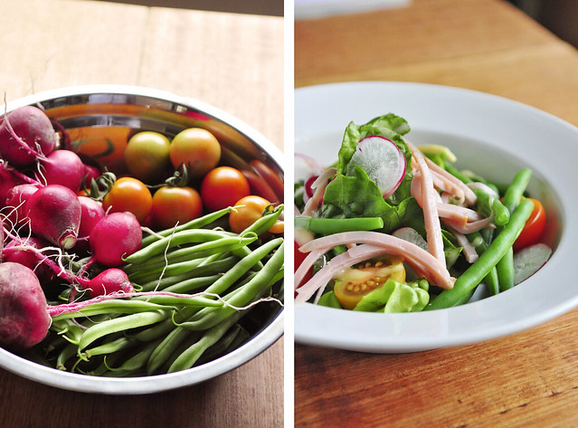 From the garden to meal