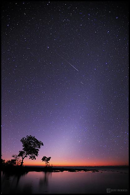 2012 Quadrantid Meteor Shower & Zodiac Lghts  - Florida Keys