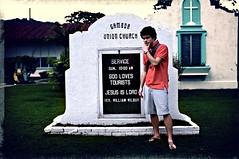 God Loves Tourists! - Gamboa, Panama