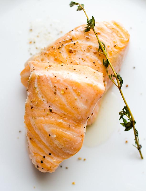 Sous vide salmon...yum