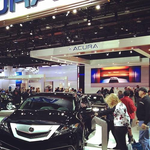 Acura Display At NAIAS Detroit