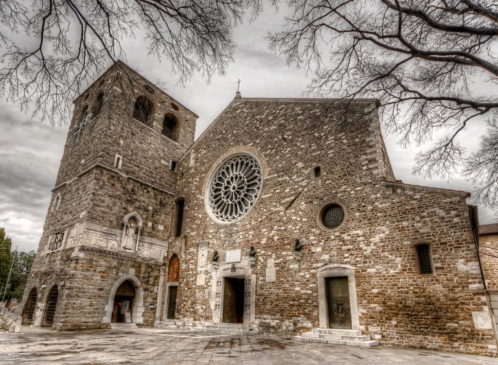 Le Campane Di San Giusto.San Giusto Trieste La Basilica Cattedrale Di San Giusto