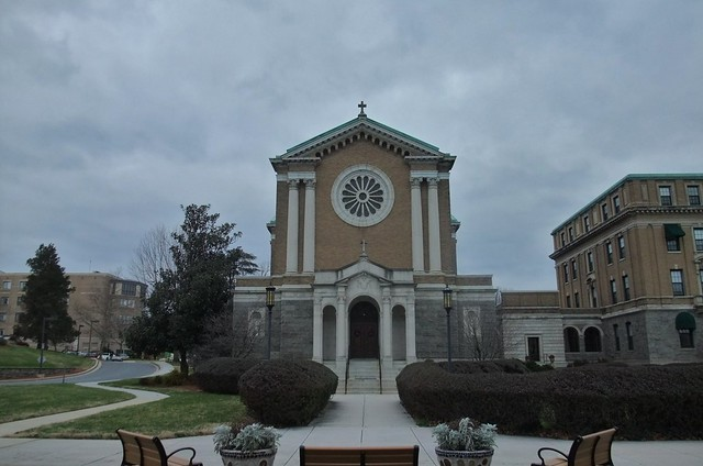 Our Lady of the Angels Chapel, Charlestown, Former St. Charles College Seminary Chapel, Catonsville, MD