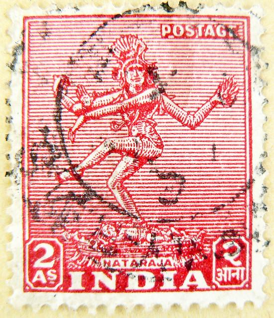 great stamp India 2 As Shiva Nataraja नटराज (Lord of Cosmic Dance - Tāṇḍava) postage टिकटों भारत हाथी 邮票 印度 象 francobolli selo sello India 切手 スタンプ インドの 象 postzegel zegels India 우표 인도 코끼리 طوابع الهند فيل znaczki Indie марки Индия слон frimerker India