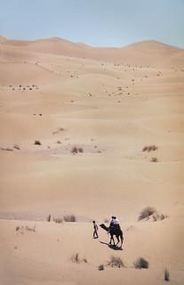 Excursión al Sahara desde Ouarzazate, Marruecos. 1992