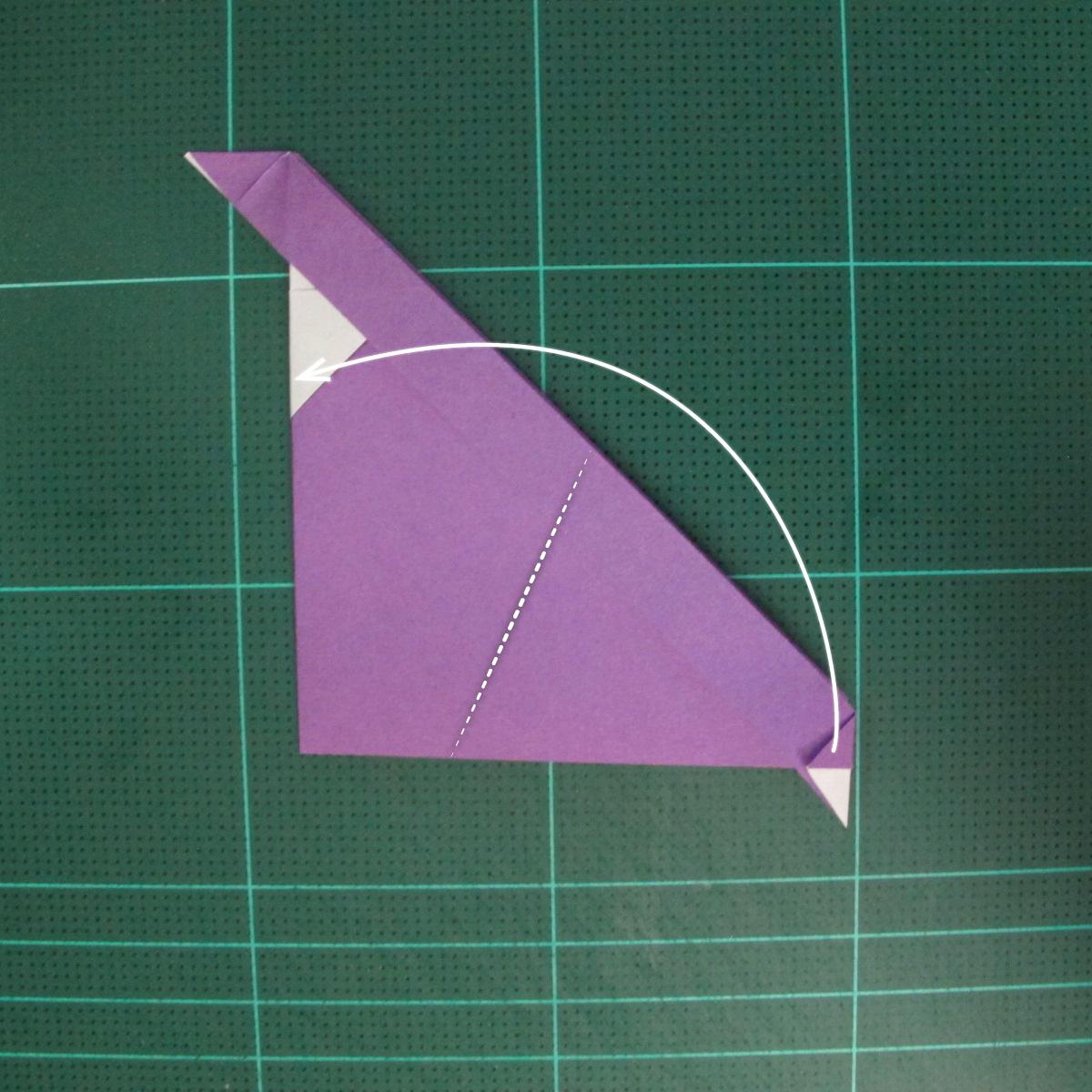 การพับกระดาษเป็นรูปแม่ชี (Origami Nun) 006