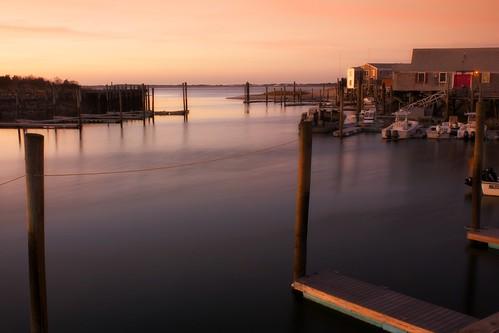 ocean sunset beach marina harbor capecod massachusetts barnstable canonefs1855mmf3556is millwaybeach millwaymarina