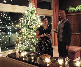 Chris B and Nadia