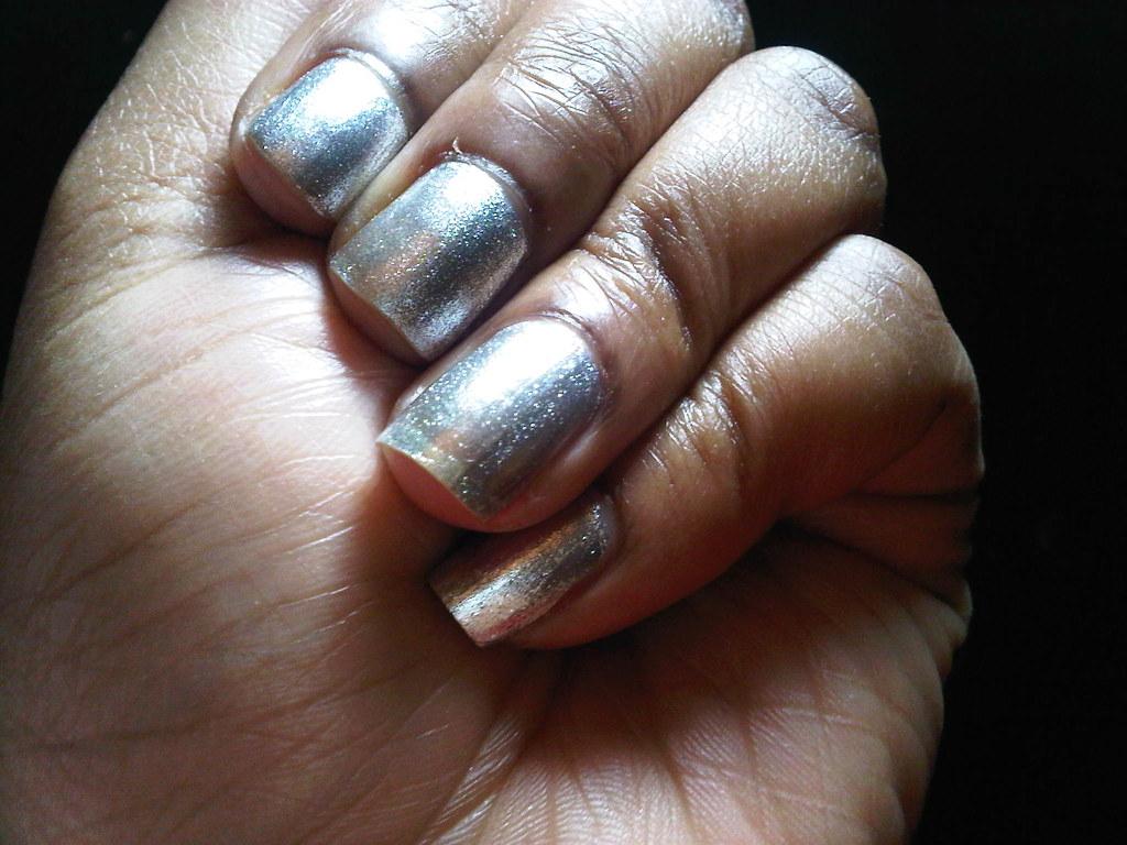 L.A. Colors Color Craze nail polish - Live | A silver, metal… | Flickr
