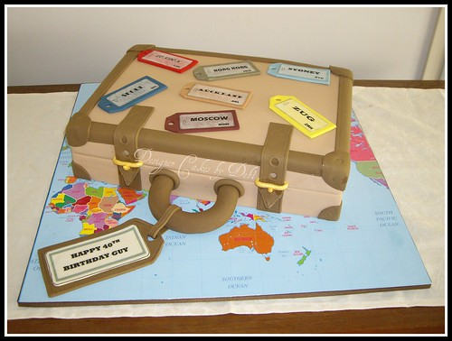 Suitcase Cake | by Designer Cakes by Deb