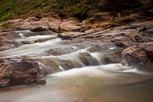 longexposure nature water waterfall rocks alabama opelika leecounty slowshutterspeed thesussman rockybrookcreek babywaterfall sonyalpadslra550